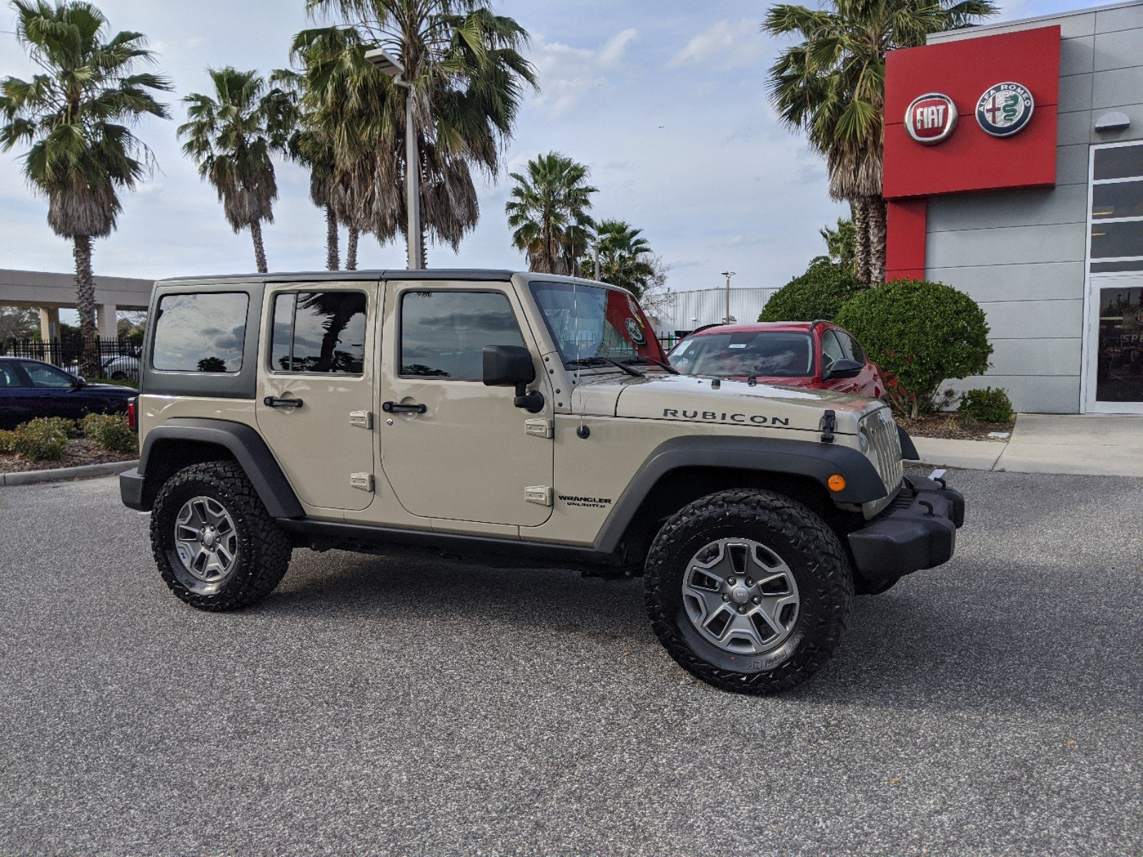 Pre-Owned 2017 Jeep Wrangler Unlimited RUBI